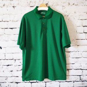Nike Golf Fit Dry Polo Shirt Green Men's XXL